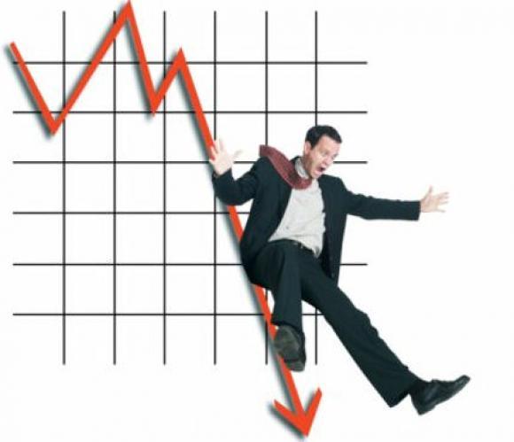 Статистика из США спровоцировало падение украинских фондовых индексов