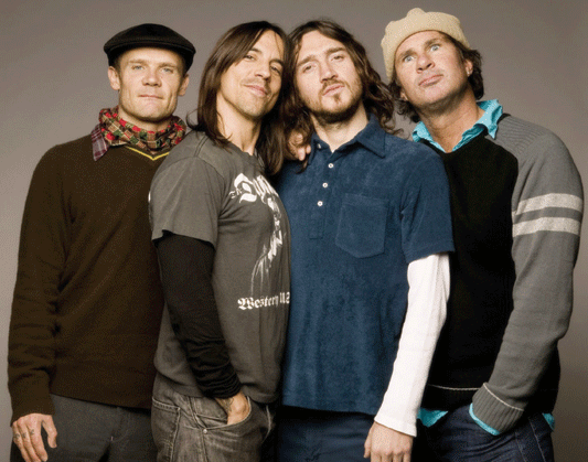 Британский хит-парад  возглавил новый альбом группы Red Hot Chili Peppers