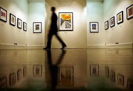 В Киеве завтра откроется выставка картин Эрте, Волошина и Бурлюкова